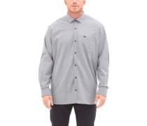 Regular: Oxfordhemd mit Waschung grau