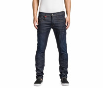 Slim-fit-Jeans blau