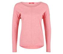 Leichter Pullover aus Feinstrick pink