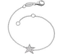 Armband mit Zirkonia 'Stern Lil' Erb-Lilstar-Zi' silber