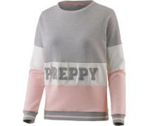 'Molly Jump' Sweatshirt grau / rosa
