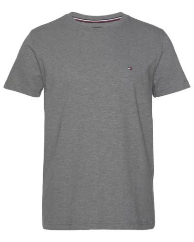 T-Shirt 'slub Tee' graumeliert