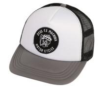 Kappe 'Smokey Trucker' grau / schwarz / weiß