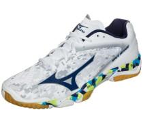 'Wave Mirage' Handballschuh mischfarben / weiß