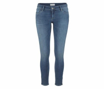Skinny-fit-Jeans 'Giselle' blue denim