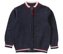 Baby Strickjacke für Jungen blau / rot / weiß