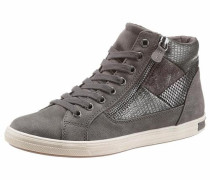 Sneaker anthrazit / dunkelgrau / silber / naturweiß