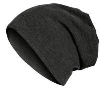 Beanie 'Beanie oder Schal' schwarz