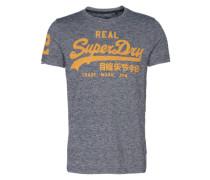 T-Shirt 'vintage Logo Tee' grau
