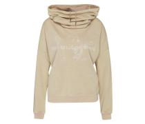 Sweatshirt 'Hoody Moonwash' beige
