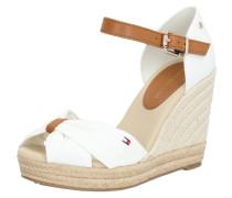 Sandale braun / creme