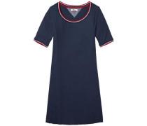 Kleid 'thdw RIB TEE Dress S/S 16' nachtblau