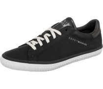 Riata Lace up Sneakers Low schwarz