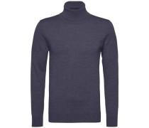 Pullover 'premium Wool Roll-Nk CF' marine