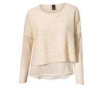 BEST CONNECTIONS Pullover 2-in-1 beige