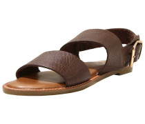 Sandale kastanienbraun