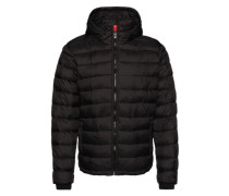 Steppjacke '2In1 Nylon Quilt' schwarz