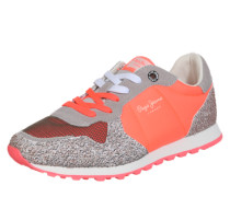 Sneaker Low 'Verona Trust' grau / neonpink