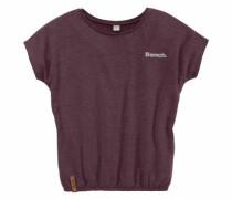 T-Shirt mit Fledermausärmeln beere