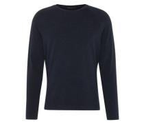 Langarmshirt aus Jersey 'Lemar' dunkelblau