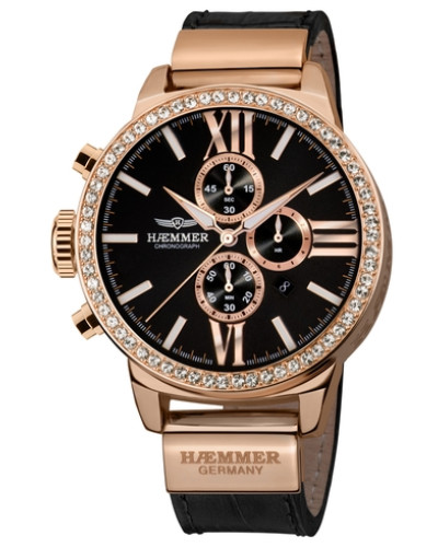 Chronograph 'dsc-04- Romana' gold / schwarz
