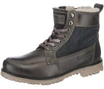Stiefeletten grau / schwarz