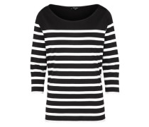 T-Shirt mit softem Griff schwarz / weiß