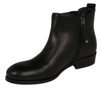 Chelsea Boots aus Leder schwarz