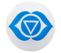 Klangchakra 'Stirn Ers-Chakra-02' blau / weiß