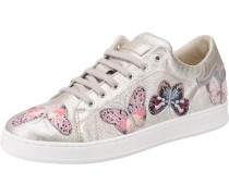 Sneakers mischfarben / rosa / silber
