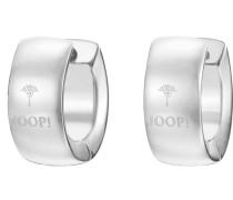Paar Creolen »Jp-M Sign Jpco10008A000« silber