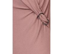 Jerseykleid silber