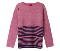 Pullover mit Streifen pink
