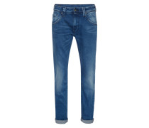 Regular-Slim-Jeans 'Zinc' blue denim