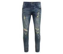 Skinny Jeans mit used Details 'Billy the kid'