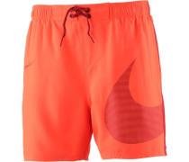 Badeshorts orange
