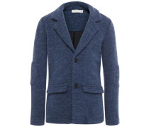 Blazer Sweat blau