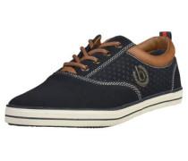 Sneaker kobaltblau / ocker