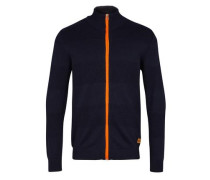 Cardigan 'Jacob Zip' navy