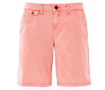 Shape Shorts: Twill-Bermuda koralle