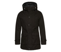 Parka 'men's outdoor jacket' schwarz