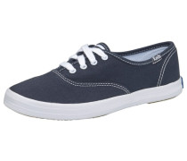 Champion Canvas Sneaker blau