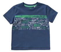 T-Shirt für Jungen UV-Schutz 30+ blau / dunkelblau / grün / weiß