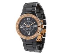 Armbanduhr El101322F09 schwarz