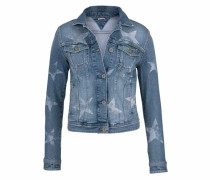 Kurzblazer blue denim