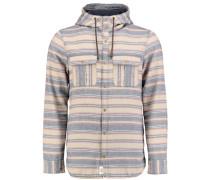 Flannel Shirt 'violator' beige / grau / rot