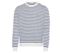 Sweater 'Champ' blau / weiß