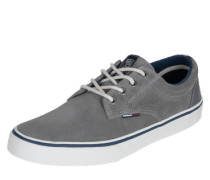 Sneaker mit Suede grau