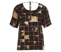 T-Shirt 'amanda' mischfarben / schwarz