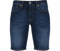 Shorts ' 502 Taper Hemmed ' blau